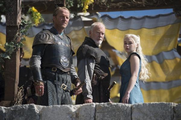 Iain Glen, Ian McElhinney, Emilia Clarke